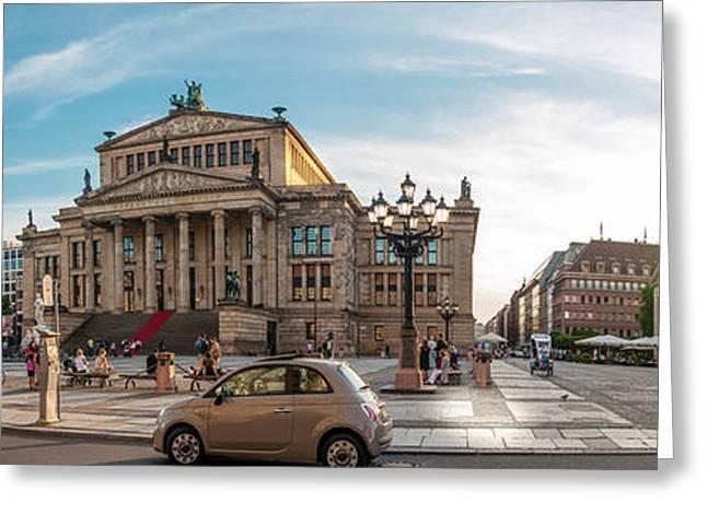 Gendarmenmarkt Platz / Berlin Greeting Card