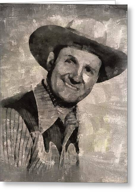 Gene Autry, Western Actor And Singer Greeting Card