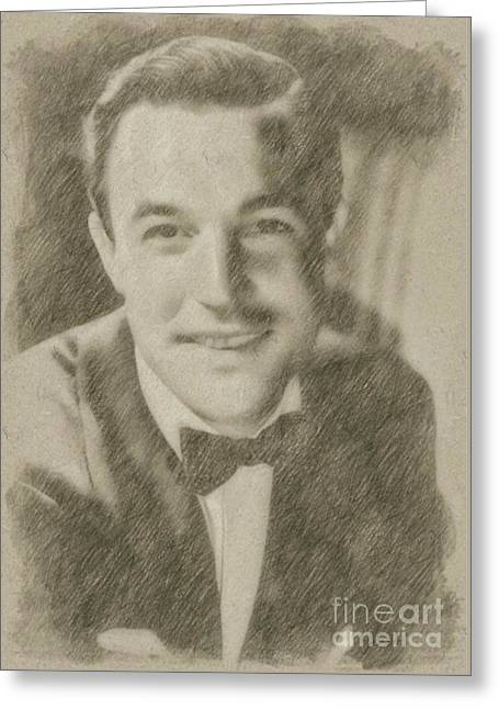Gene Kelly, Actor And Dancer Greeting Card