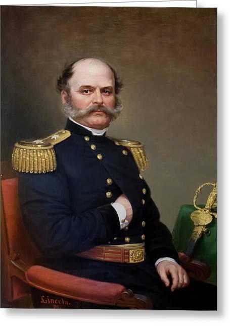 General Ambrose Burnside Greeting Card