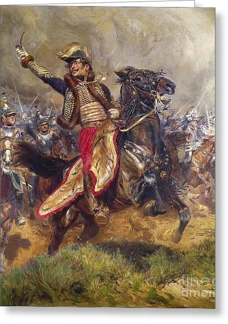 General Antoine-charles-louis Lasalle Greeting Card
