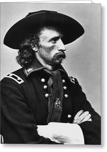 General Custer - Civil War Greeting Card by War Is Hell Store