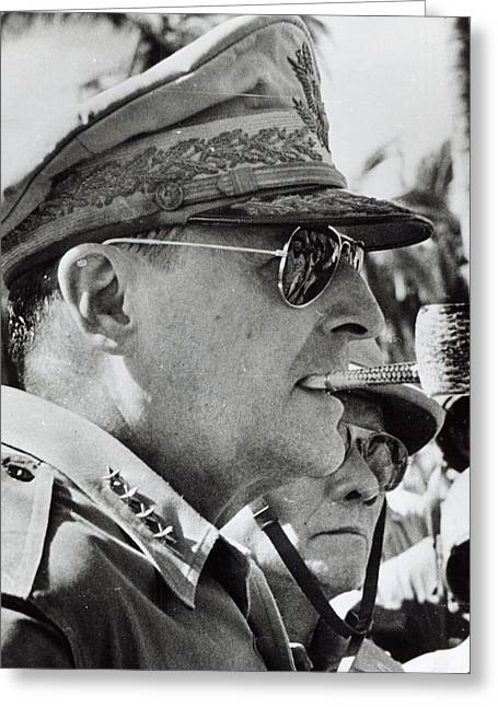 General Douglas Macarthur, 1944 Greeting Card by American School