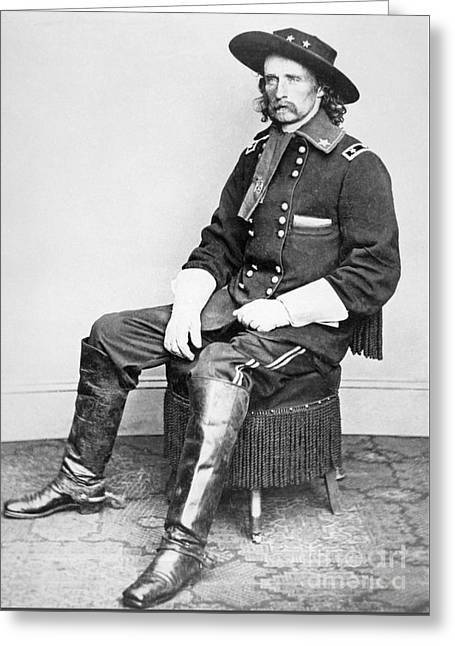 General George A Custer  Greeting Card