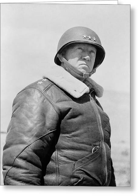 General George S. Patton Greeting Card