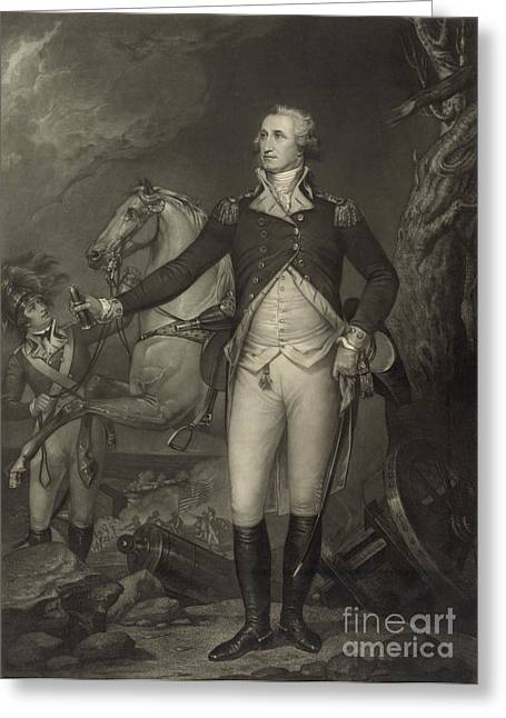 General George Washington, Battle Greeting Card