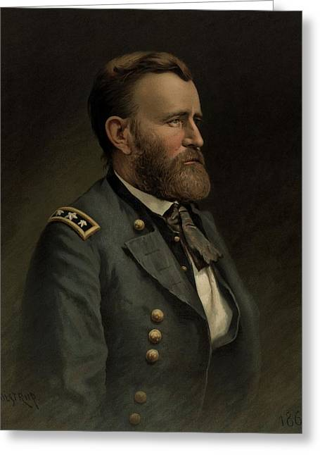 General Grant - American Civil War Greeting Card by War Is Hell Store