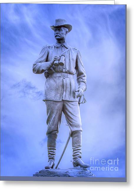 General John Buford Gettysburg Battlefield Greeting Card