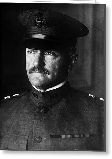 General John Pershing Portrait Greeting Card