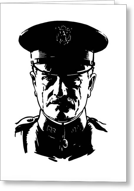 General John Pershing Greeting Card by War Is Hell Store