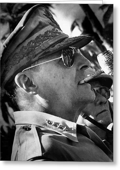 General Macarthur Greeting Card by War Is Hell Store