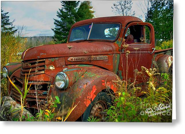Greeting Card featuring the photograph General Motors Truck by Alana Ranney