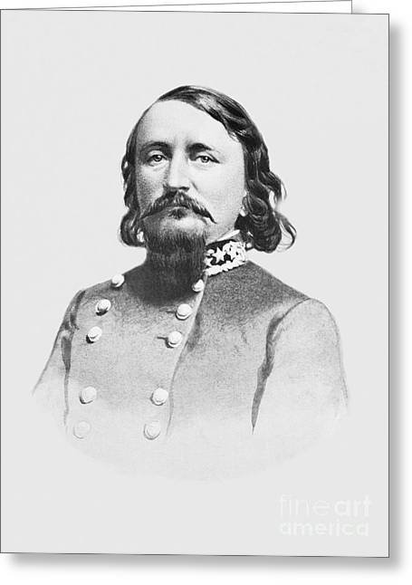 General Pickett - Csa Greeting Card
