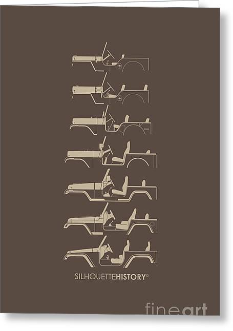 General Purpose Silhouettehistory Greeting Card by Balazs Iker