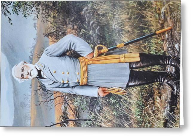 General Robert E. Lee Greeting Card