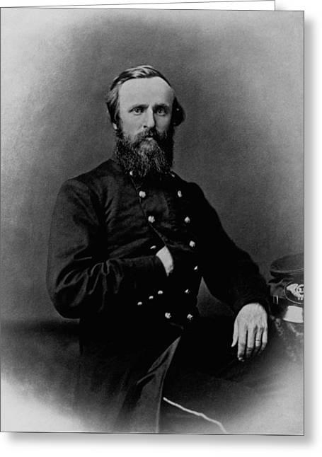 General Rutherford B. Hayes - Civil War Greeting Card