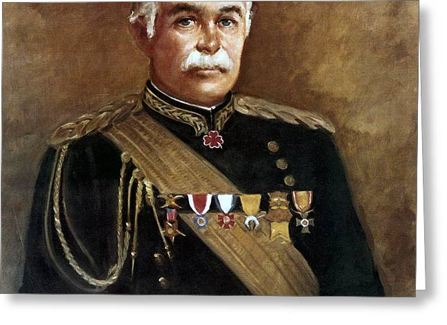 General Samuel B. M. Young Greeting Card by MotionAge Designs