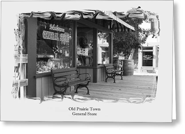 General Store Greeting Card by Jim  Darnall