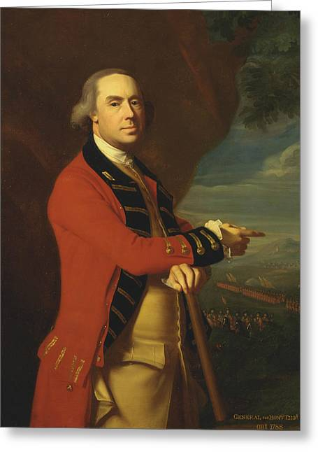General Thomas Gage  Greeting Card by John Singleton Copley