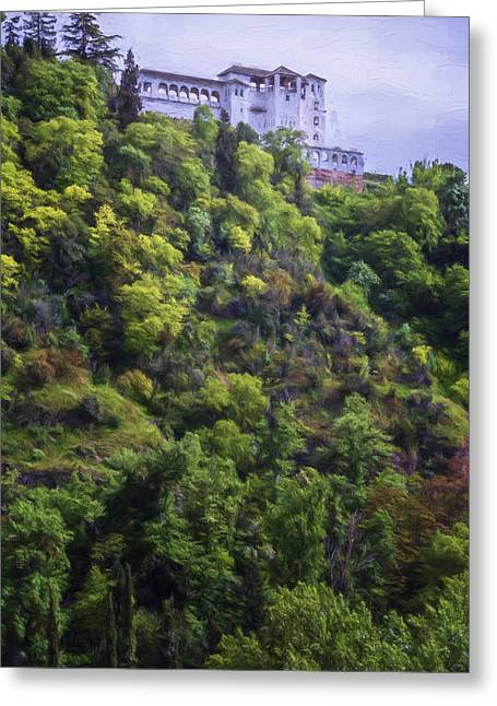 Generalife Greeting Card