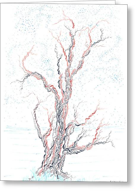 Genetic Branches Greeting Card