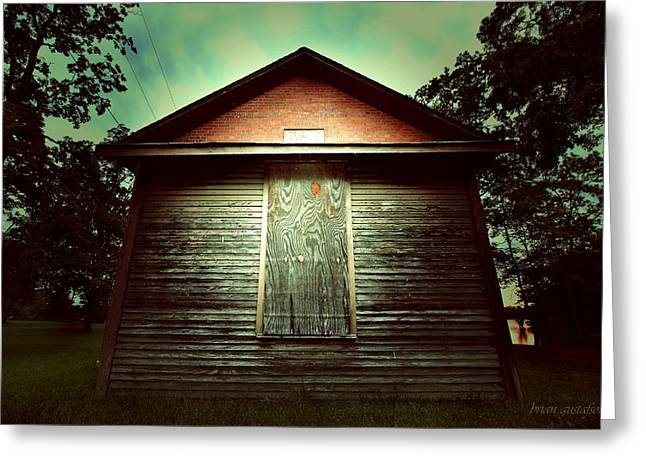 Genoa Schoolhouse Greeting Card