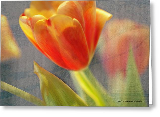 Gentility Greeting Card by Jessica Manelis