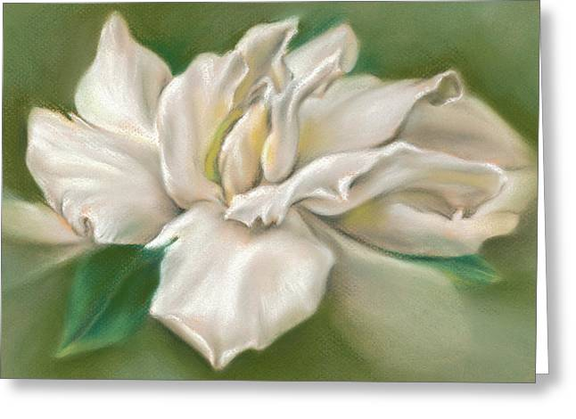 Gentle Gardenia Greeting Card