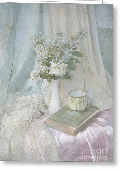 Gentle Still Life Greeting Card by Svetlana Novikova