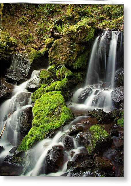Gentle Summit Creek Greeting Card