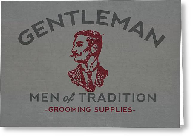 Gentleman Greeting Card