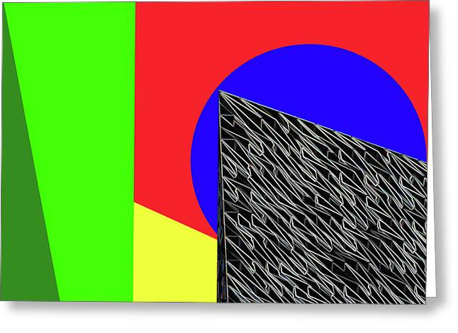 Geo Shapes 3 Greeting Card by Bruce Iorio
