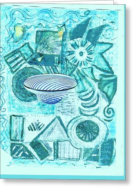 Geometric Abstract Fun Greeting Card