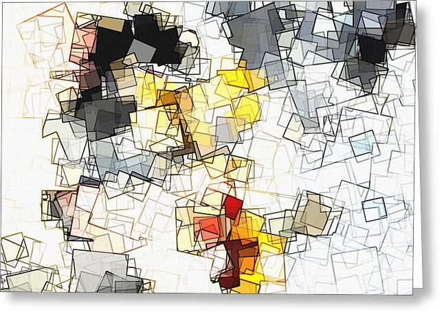Geometric Minimalist And Abstract Art Greeting Card