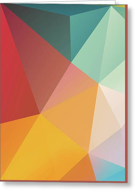 Geometric Xxix Greeting Card