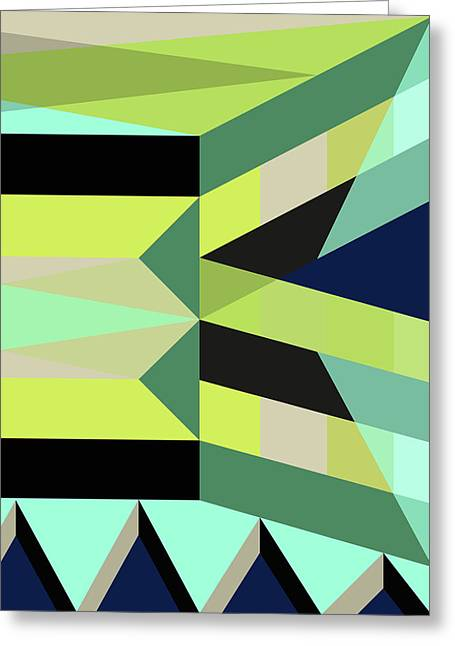 Geometric#25 Greeting Card by Susana Martins