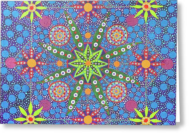 Geometry Of An Arkana Greeting Card