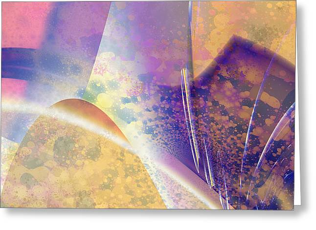Geomorphic Greeting Card by Dan Turner