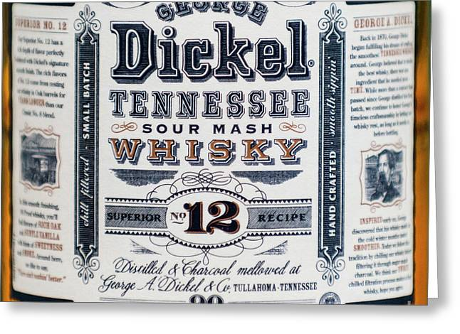 George A. Dickel Greeting Card by Dale Powell