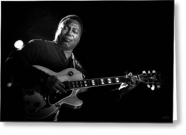 George Benson  Greeting Card