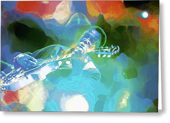 George Benson, Watercolor Greeting Card