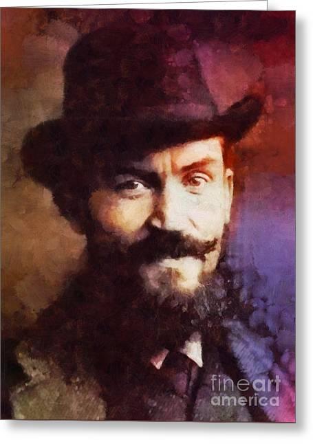 George Bernard Shaw, Literary Legend Greeting Card