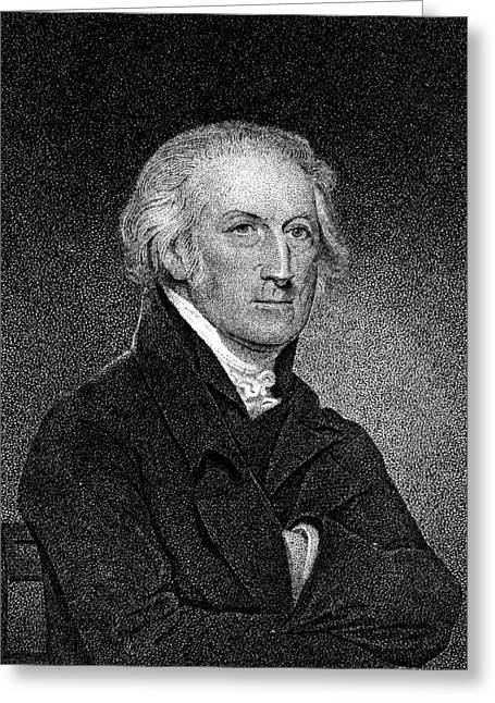 Stipple Greeting Cards - George Clymer (1739-1813) Greeting Card by Granger