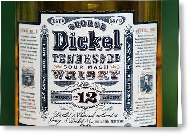 George Dickel Greeting Card by Dale Powell