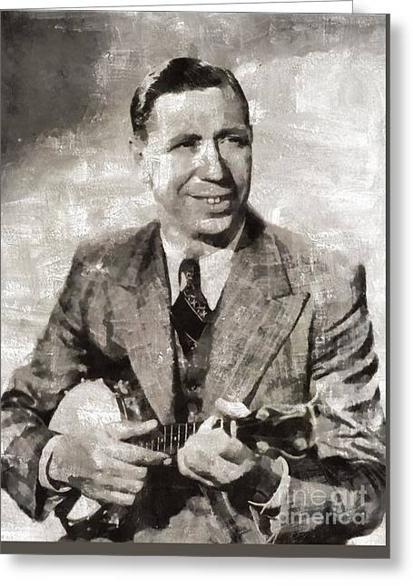 George Formby, Singer Greeting Card