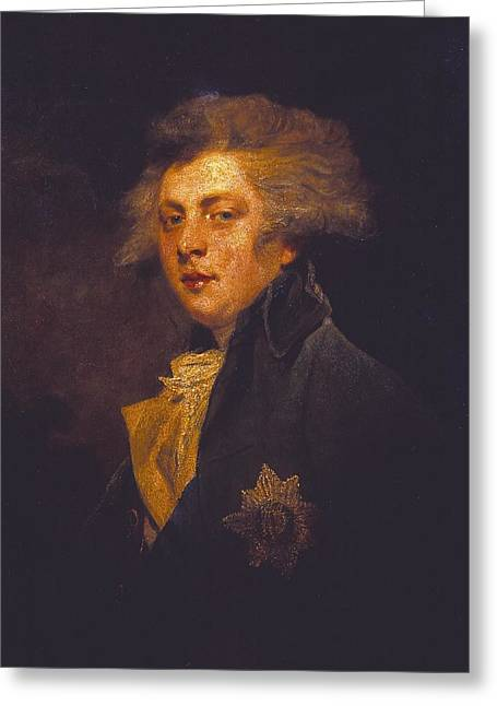 George Iv When Prince Of Wales Greeting Card