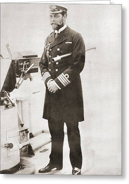 George, Later King George V, In The Greeting Card