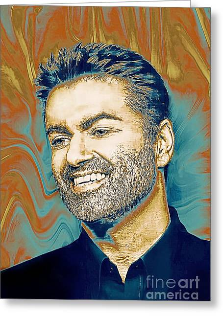 George Michael - Tribute  Greeting Card