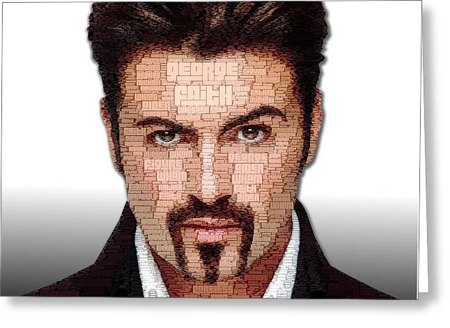 George Michael Tribute Greeting Card
