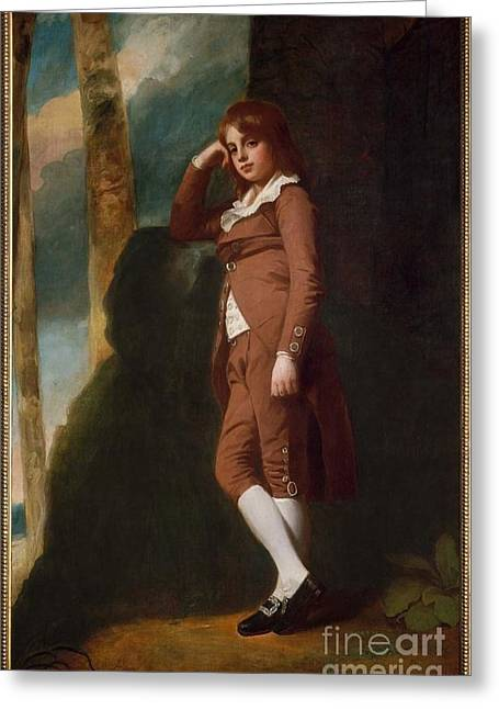 George Romney Greeting Card by MotionAge Designs